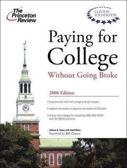 Paying for College Without Going Broke 2006