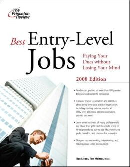Best Entry-Level Jobs 2008