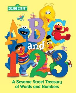 ABC and 1,2,3: A Sesame Street Treasury of Words and Numbers