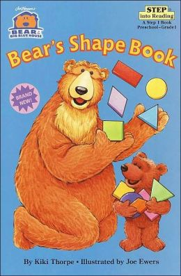 Bear in the Big Blue House: Bear's Shape Book (Step into Reading Book Series: A Step 1 Book)