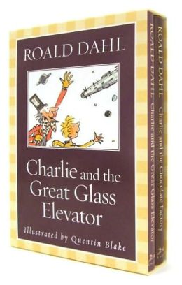 Charlie Boxed Set: Charlie and the Chocolate Factory and Charlie and the Great Glass Elevator