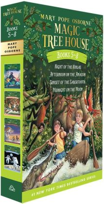 Magic Tree House Collection: Books 5-8 (Magic Tree House Series)