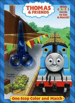 One-Stop Color And Match (Thomas the Tank Engine Series)