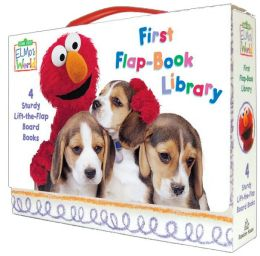 Elmo's World: First Flap-Book Library