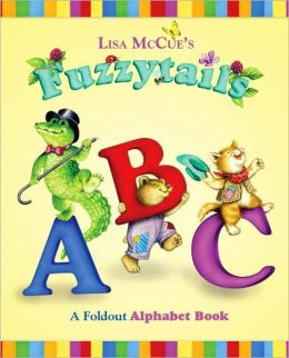 Fuzzytails ABC: A Foldout Alphabet Book