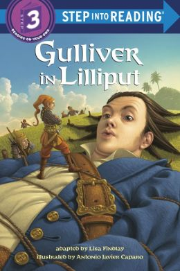 Gulliver in Lilliput