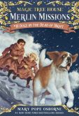 Book Cover Image. Title: Dogs in the Dead of Night (Magic Tree House Series #46), Author: Mary Pope Osborne