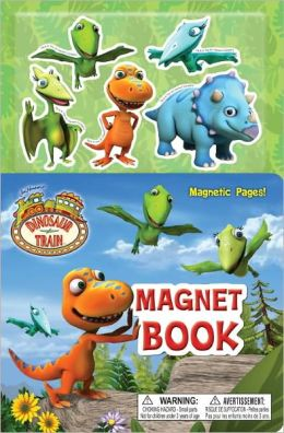 Dinosaur Train Magnet Book (Dinosaur Train Series)