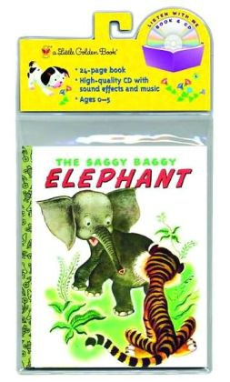 The Saggy Baggy Elephant (Book and CD)
