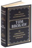 Book Cover Image. Title: The Greatest Generation / The Greatest Generation Speaks (Barnes & Noble Collectible Editions), Author: Tom Brokaw