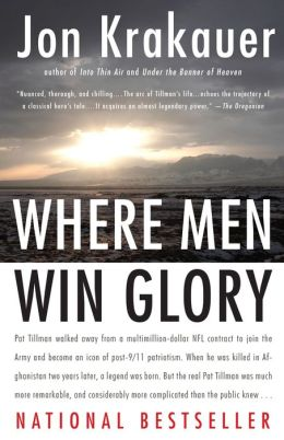 where men win glory In where men win glory, he takes on one of our nation's most exceptional  contradictions: pat tillman, the intelligent football player who dropped a lucrative  nfl.