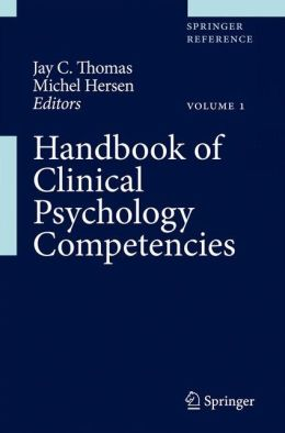 Handbook of Clinical Psychology Competencies