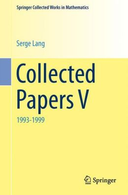 Collected Papers: Volume V
