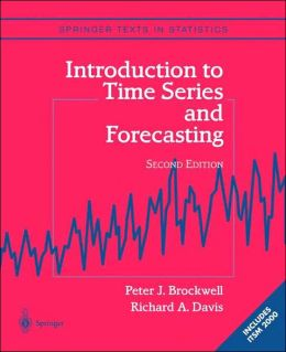 Introduction to Time Series and Forecasting [With CDROM]