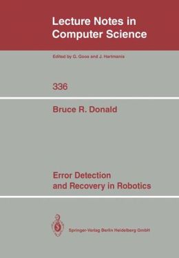 Error Detection and Recovery in Robotics