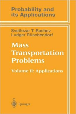 Mass Transportation Problems: Applications