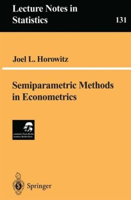 Semiparametric Methods in Econometrics