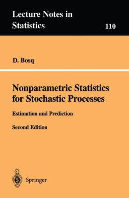 Nonparametric Statistics for Stochastic Processes: Estimation and Prediction