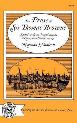 Prose of Sir Thomas Browne