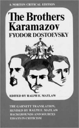 The Brothers Karamazov: A Norton Critical Edition