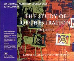 The Study of Orchestration: CDs Only