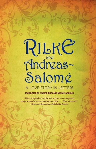 Books for free download in pdf format Rilke and Andreas-Salome: A Love Story in Letters (English Edition) by Rainer Maria Rilke, Lou Andreas-Salome
