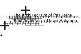 The Architecture of Patterns