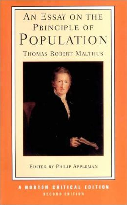An Essay on the Principle of Population: Text, Sources and Background, Criticism