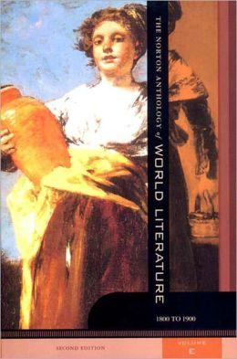 Norton Anthology of World Literature, Volume E (924564)