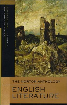 Norton Anthology of English Literature Volume 2A Romantic Period