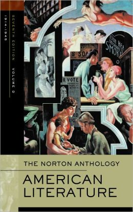 The Norton Anthology of American Literature: Volume D: 1914-1945