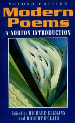 Modern Poems: A Norton Introduction