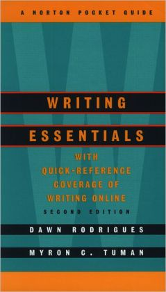 Writing Essentials: A Norton Pocket Guide