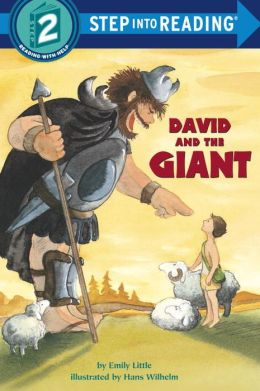David and the Giant (Step into Reading Books Series: A Step 2 Book)