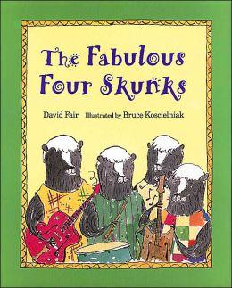 Fabulous Four Skunks