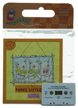 The Three Little Pigs Book & Cassette