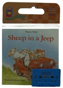 Sheep in a Jeep Book & Cassette