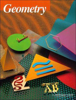 McDougal Littell Jurgensen Geometry: Student Edition Geometry 2000