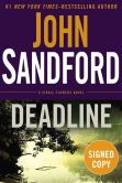 Book Cover Image. Title: Deadline (Signed Book) (Virgil Flowers Series #8), Author: John Sandford