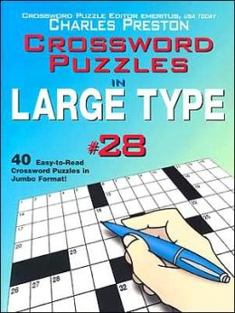 Crossword Puzzles in Large Type #28