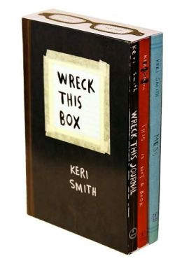 Wreck This Book (3-Volume Boxed Set)