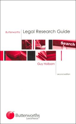 Butterworths Legal Research Guide