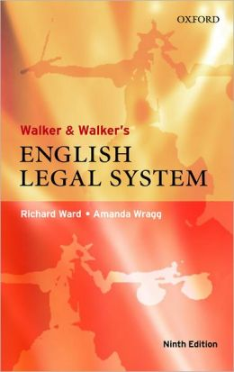 Walker and Walker's English Legal System