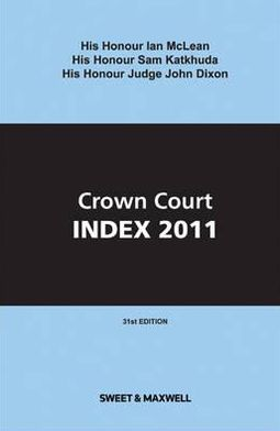 Crown Court Index 2011