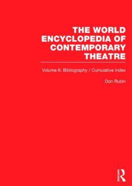 Bibliography and Cumulative Index