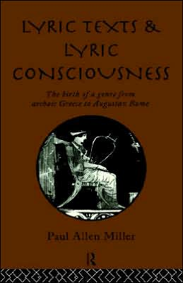 Lyric Texts And Lyric Conciousness