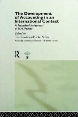 Development Of Accounting In An International Context, The