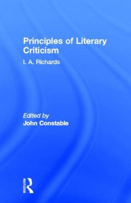 Principles of Literary Criticism and Science and Poetry