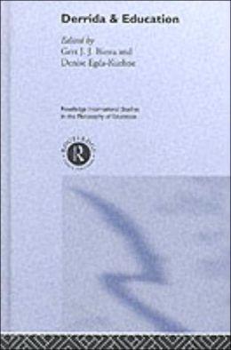 Derrida & Education
