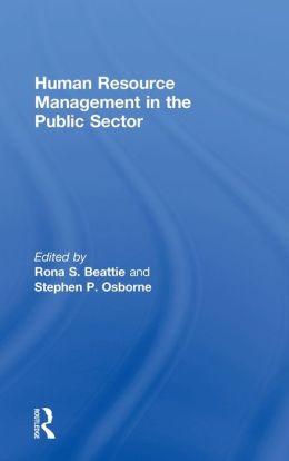 Human Resource Management Public Se